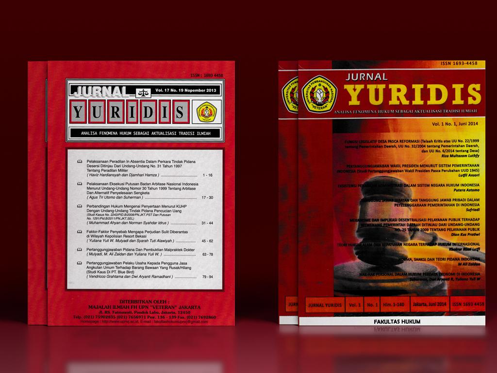 Publikasi Jurnal Yuridis