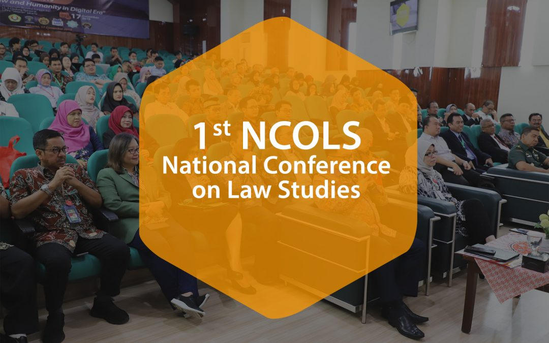 Liputan 1st NCOLS (National Conference On Law Studies)