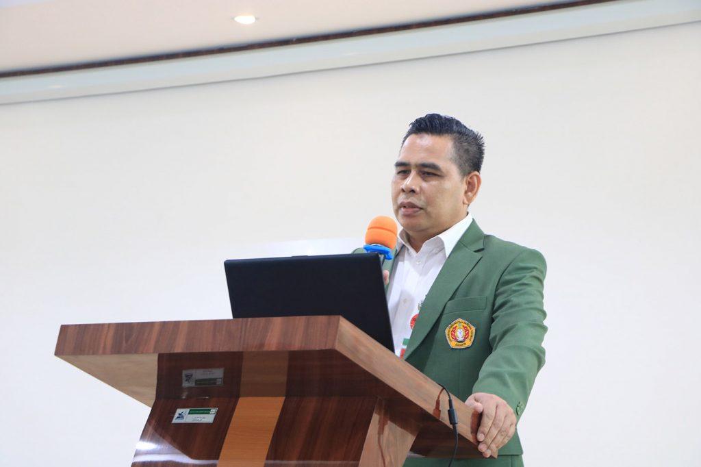 Sambutan Dekan FH Abdul Halim