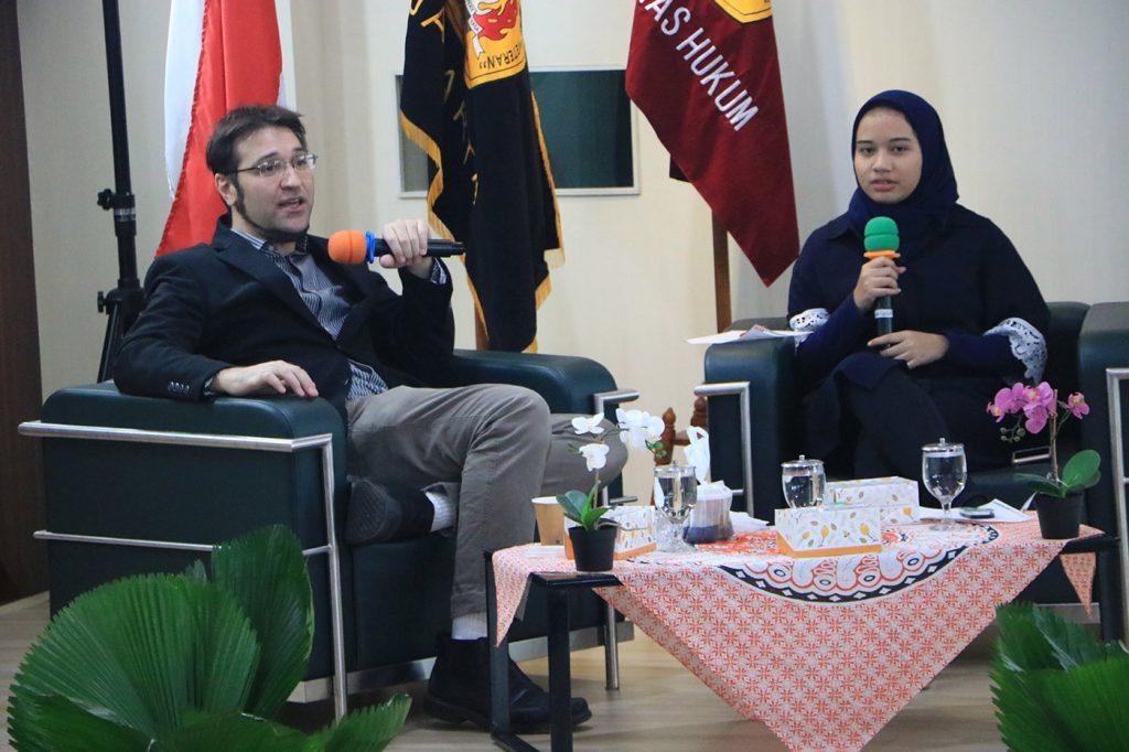 Diskusi dengan Prof. Aria Nakissa