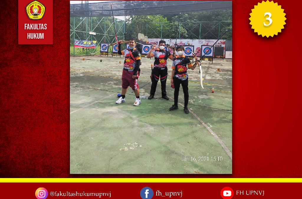 Mahasiswa Fakultas Hukum raih Juara di Kejuaraan Nasional Indonesia Memanah 6