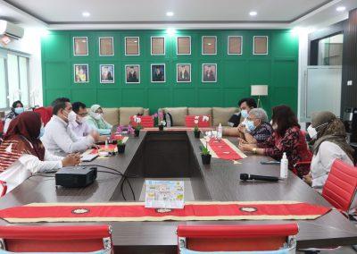 Fakultas Hukum dan Badan Penyelesaian Sengketa Konsumen (BPSK) Provinsi DKI Jakarta Membicarakan Program MBKM (Merdeka Belajar Kampus Merdeka)