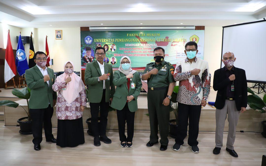 Kegiatan seminar nasional rancangan perppres tentang tugas tni dalam mengatasi aksi terorisme implementasi tugas operasional militer selain perang (14)