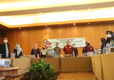 Peserta Rapat Kerja Penyusunan RENSTRA Fakultas Hukum UPN VETERAN JAKARTA Tahun 2020-2024dan Strategi Pencapaian Indikator Kinerja Utama (IKU) – Bandung, 20 – 23 November 2020 (3)