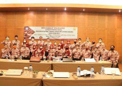 Peserta Rapat Kerja Penyusunan RENSTRA Fakultas Hukum UPN VETERAN JAKARTA Tahun 2020-2024dan Strategi Pencapaian Indikator Kinerja Utama (IKU) – Bandung, 20 – 23 November 2020 (9)