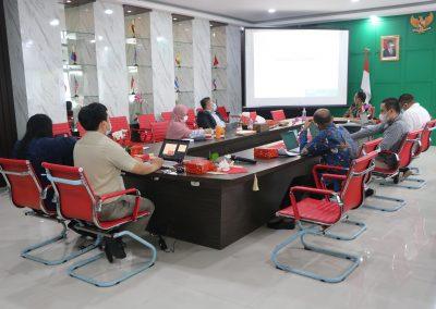 Penyeleksian Tahap Wawancara dan Micro Teaching Calon Dosen Fakultas Hukum UPN Veteran Jakarta (2) – 24 Februari 2021