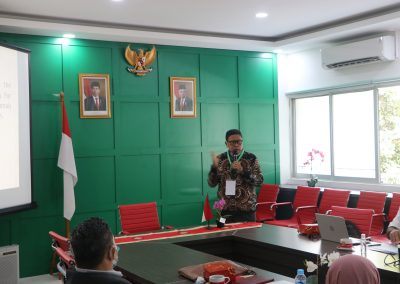 Penyeleksian Tahap Wawancara dan Micro Teaching Calon Dosen Fakultas Hukum UPN Veteran Jakarta – 24 Februari 2021