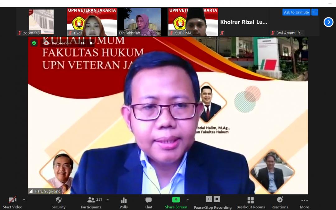 Kuliah Umum Prof. Dr. Efa Laela Fakhirah, S.H.,M.H., (3) – Sabtu, 20 Februari 2021