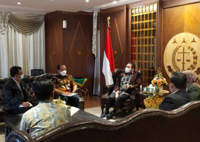Fakultas Hukum Menghadiri Audiensi Dengan Jaksa Agung Membicarakan Program MBKM (Merdeka Belajar Kampus Merdeka) (5)