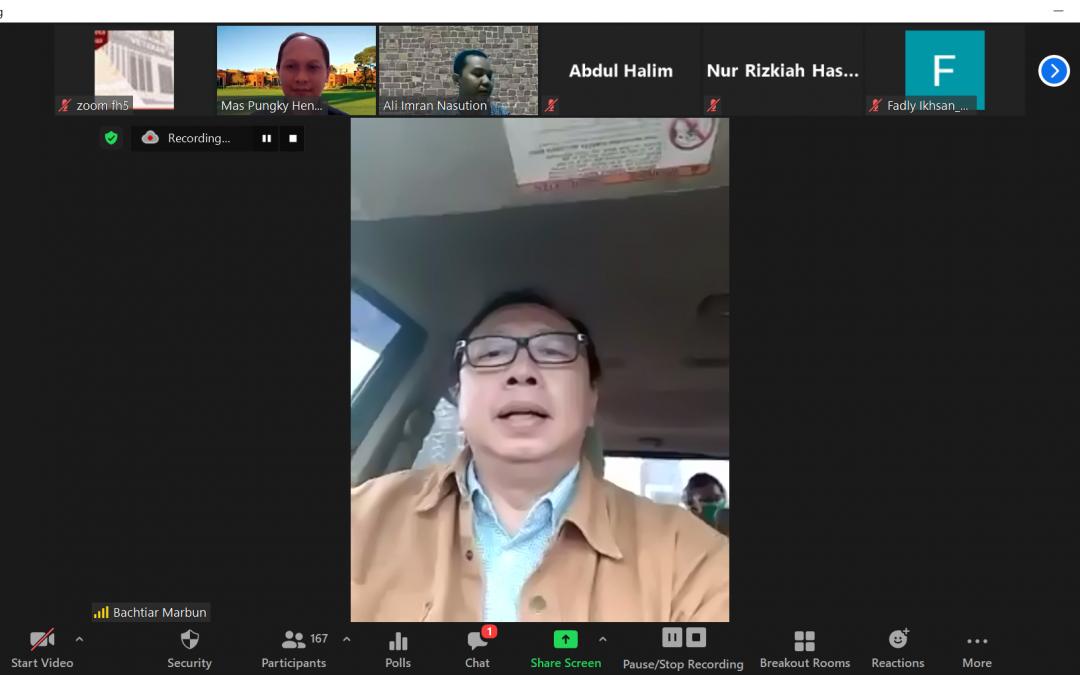 Kuliah Umum Mas Pungky Hendra Wijaya, Ph.D., (3) – Sabtu, 20 Februari 2021