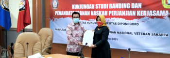 Fakultas Hukum kembali mengadakan Studi Banding ke Fakultas Hukum Universitas Diponegoro
