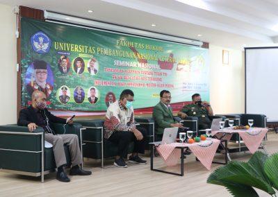 Kegiatan seminar nasional rancangan perppres tentang tugas tni dalam mengatasi aksi terorisme implementasi tugas operasional militer selain perang (4)
