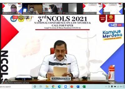 Fakultas Hukum UPN Veteran Jakarta menyelenggarakan kegiatan 3rd National Conference on Law Studies (NCOLS) (2)