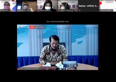 Fakultas Hukum UPN Veteran Jakarta menyelenggarakan kegiatan 3rd National Conference on Law Studies (NCOLS) (3)
