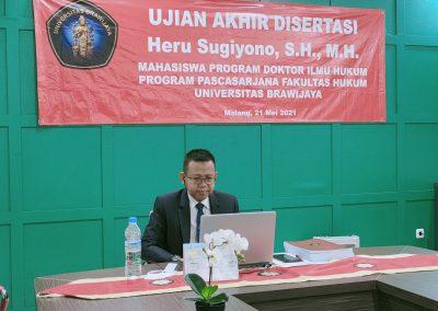 Selamat dan Sukses kepada Bapak Heru Sugiyono, S.H., M.H. Dosen Tetap Fakultas Hukum atas diraihnya gelar Doktor (3)
