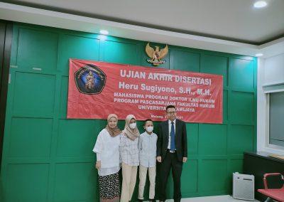 Selamat dan Sukses kepada Bapak Heru Sugiyono, S.H., M.H. Dosen Tetap Fakultas Hukum atas diraihnya gelar Doktor (10)