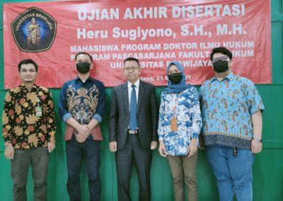 Selamat dan Sukses kepada Bapak Heru Sugiyono, S.H., M.H. Dosen Tetap Fakultas Hukum atas diraihnya gelar Doktor (13)