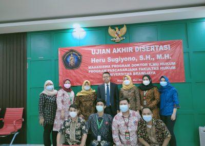 Selamat dan Sukses kepada Bapak Heru Sugiyono, S.H., M.H. Dosen Tetap Fakultas Hukum atas diraihnya gelar Doktor (34)