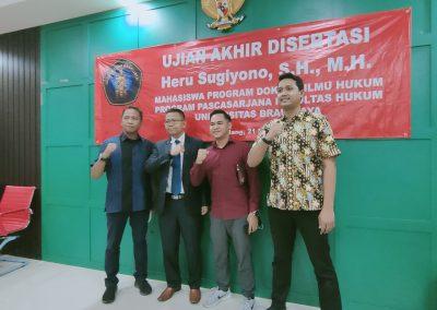 Selamat dan Sukses kepada Bapak Heru Sugiyono, S.H., M.H. Dosen Tetap Fakultas Hukum atas diraihnya gelar Doktor (37)