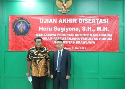 Selamat dan Sukses kepada Bapak Heru Sugiyono, S.H., M.H. Dosen Tetap Fakultas Hukum atas diraihnya gelar Doktor (15)