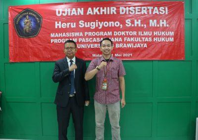 Selamat dan Sukses kepada Bapak Heru Sugiyono, S.H., M.H. Dosen Tetap Fakultas Hukum atas diraihnya gelar Doktor (19)