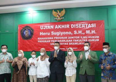 Selamat dan Sukses kepada Bapak Heru Sugiyono, S.H., M.H. Dosen Tetap Fakultas Hukum atas diraihnya gelar Doktor (21)