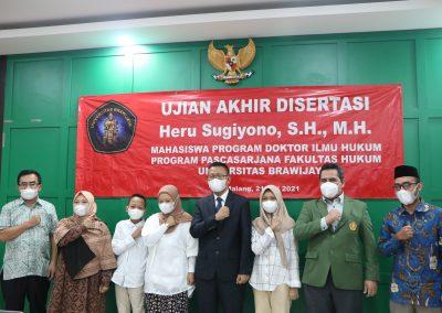 Selamat dan Sukses kepada Bapak Heru Sugiyono, S.H., M.H. Dosen Tetap Fakultas Hukum atas diraihnya gelar Doktor (22)