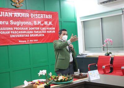 Selamat dan Sukses kepada Bapak Heru Sugiyono, S.H., M.H. Dosen Tetap Fakultas Hukum atas diraihnya gelar Doktor (24)