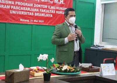 Selamat dan Sukses kepada Bapak Heru Sugiyono, S.H., M.H. Dosen Tetap Fakultas Hukum atas diraihnya gelar Doktor (25)