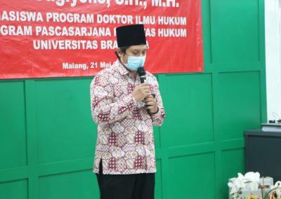 Selamat dan Sukses kepada Bapak Heru Sugiyono, S.H., M.H. Dosen Tetap Fakultas Hukum atas diraihnya gelar Doktor (26)