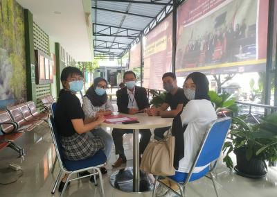 Dalam Rangka Dies Natalis FH UPNVJ yang Ke – 21, Fakultas Hukum UPN Veteran Jakarta Lewat Lembaga Konsultasi dan Bantuan Hukum (LKBH) Mengadakan Konsultasi Hukum Gratis (5)