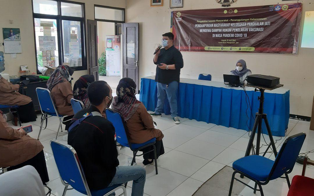 Fakultas Hukum mengadakan Pengabdian kepada Masyarakat (Abdimas) – Penanggulangan Kebencanaan di Kelurahan Pangkalan Jati, Depok, Jawa Barat. (7)
