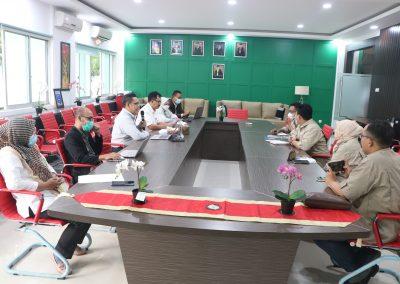 Fakultas Hukum UPN Veteran Jakarta dan Lembaga Sertifikasi Profesi Hukum Kontrak Indonesia (LSP HKI) mengadakan Audiensi
