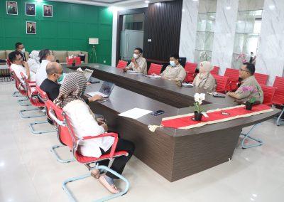 Fakultas Hukum UPN Veteran Jakarta dan Lembaga Sertifikasi Profesi Hukum Kontrak Indonesia (LSP HKI) mengadakan Audiensi (4)