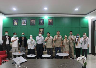 Fakultas Hukum UPN Veteran Jakarta dan Lembaga Sertifikasi Profesi Hukum Kontrak Indonesia (LSP HKI) mengadakan Audiensi (12)