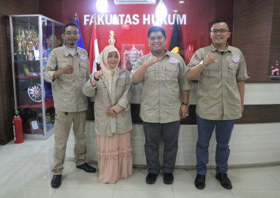 Fakultas Hukum UPN Veteran Jakarta dan Lembaga Sertifikasi Profesi Hukum Kontrak Indonesia (LSP HKI) mengadakan Audiensi (11)
