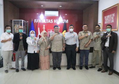 Fakultas Hukum UPN Veteran Jakarta dan Lembaga Sertifikasi Profesi Hukum Kontrak Indonesia (LSP HKI) mengadakan Audiensi (10)