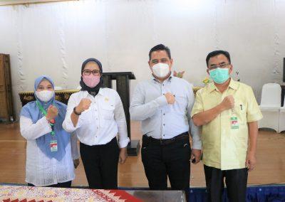 Fakultas Hukum UPN Veteran Jakarta andil dalam bagian penjajakan kerja sama kajian hukum dan rancangan peraturan daerah Indramayu (28)