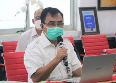 Fakultas Hukum UPN Veteran Jakarta kedatangan tamu dari Puslitbang Hukum dan Peradilan Mahkamah Agung RI