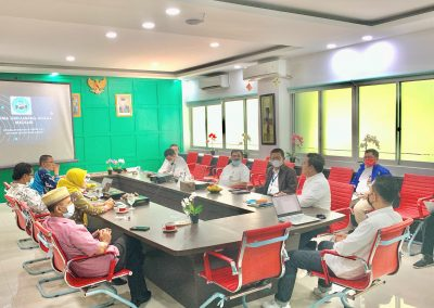 Fakultas Hukum UPN Veteran Jakarta dan Fatahillah Mediation Center (FMC) Universitas Islam Negeri Syarif Hidayatullah Jakarta Membicarakan skema kerja sama Diklat Mediasi (5)