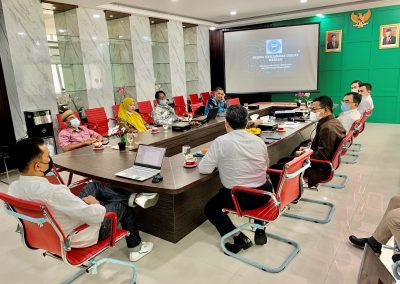Fakultas Hukum UPN Veteran Jakarta dan Fatahillah Mediation Center (FMC) Universitas Islam Negeri Syarif Hidayatullah Jakarta Membicarakan skema kerja sama Diklat Mediasi