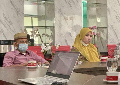 Fakultas Hukum UPN Veteran Jakarta dan Fatahillah Mediation Center (FMC) Universitas Islam Negeri Syarif Hidayatullah Jakarta Membicarakan skema kerja sama Diklat Mediasi (3)