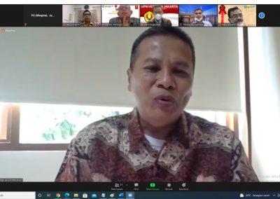 Fakultas Hukum UPN Veteran Jakarta dan Fakultas Hukum, Ilmu Sosial dan Ilmu Politik Universitas Terbuka Mengadakan Audiensi Membahas Program MBKM (2)