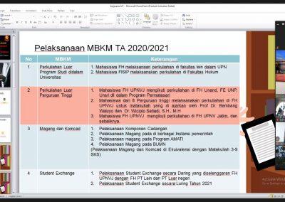 Fakultas Hukum UPN Veteran Jakarta dan Fakultas Hukum, Ilmu Sosial dan Ilmu Politik Universitas Terbuka Mengadakan Audiensi Membahas Program MBKM (4)