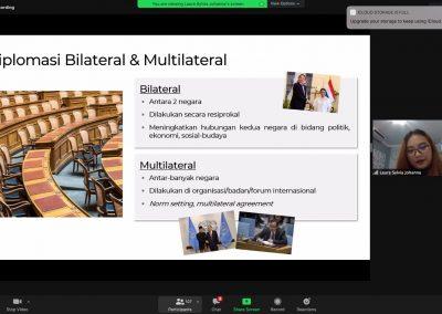 Prodi Ilmu Hukum S1 pada mata kuliah Hukum Diplomatik & Konsuler dan Hukum Perjanjian Internasional mengadakan kuliah umum dengan narasumber dari Diplomat Hungaria (3)