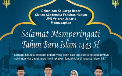 Selamat memperingati tahun baru islam 1443 H